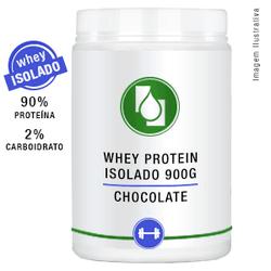 Whey Protein Isolado 90% Chocolate 900g - Seiva Manipulação | Produtos Naturais e Medicamentos