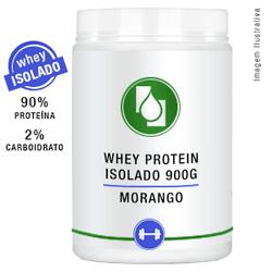Whey Protein Isolado 90% Morango 900g - Seiva Manipulação | Produtos Naturais e Medicamentos