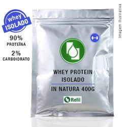Whey Protein Isolado 90% Puro 400g - Seiva Manipulação | Produtos Naturais e Medicamentos