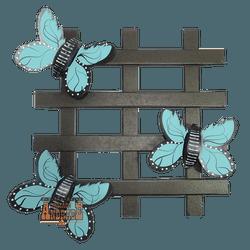 Treliça Borboleta Azul - Selaria Irmãos Andrade