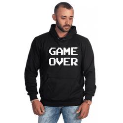 Moletom Masculino Estampado Game Over Preto - Selt... - SELTENBRASIL