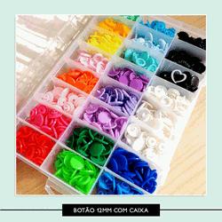Botão de Pressão com Caixa Organizadora - 12 mm - ... - Studio Office K
