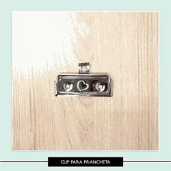 Clip para prancheta - Clip prancheta - Studio Office K