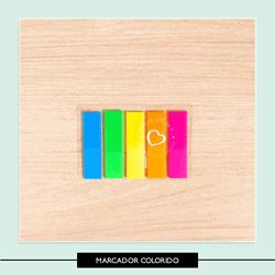 Marcador de Páginas colorido - 774DD1 - Studio Office K