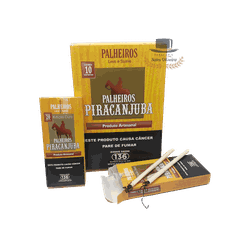 Palheiros Piracanjuba Série Ouro - Display com 10 ... - TABACARIASALESOLIVEIRA