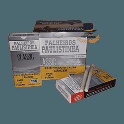 Palheiros Paulistinha Classic com filtro - Display... - TABACARIASALESOLIVEIRA