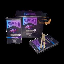 Palheiros Canarinho Atomic Flavor - Display com 10... - TABACARIASALESOLIVEIRA