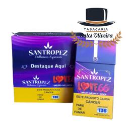 Santropez Love 66 - Display com 10 maços de 20 cig... - TABACARIASALESOLIVEIRA