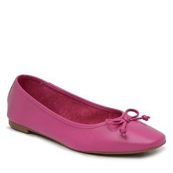 Sapatilha em couro Veneto Pink - Mezzo Punto