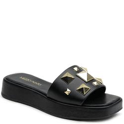 Sandália Flatform Preta - 264205 P - LESSÔ