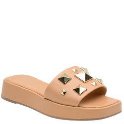 Sandália Flatform mel - 264205 M - LESSÔ