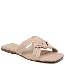 SandÁlia Flat Nude Claro - Mezzo Punto