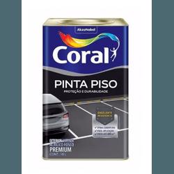 TINTA ACRÍLICA PRETO PINTA PISO 18L CORAL - TINTAS JD