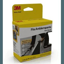 FITA ANTIDERRAPANTE PRETA SAFETY-WALK 50X5 3M - TINTAS JD