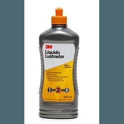 LÍQUIDO LUSTRADOR PRETO 500ML 3M - TINTAS JD