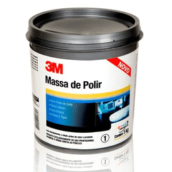 MASSA DE POLIR 1KG 3M - TINTAS JD