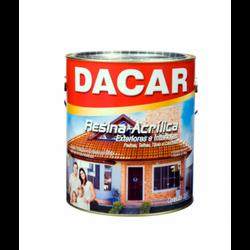 RESINA ACRÍLICA BASE SOLVENTE 3,6L DACAR - TINTAS JD