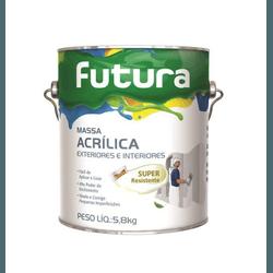 MASSA ACRÍLICA 3,6L FUTURA - TINTAS JD