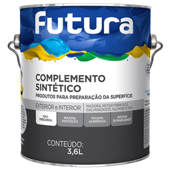 FUNDO ANTICORROSIVO CINZA 3,6L FUTURA - TINTAS JD