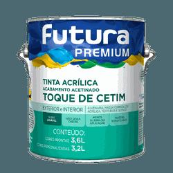 TINTA ACRÍLICA ACETINADO BRANCO TOQUE DE CETIM 3,6... - TINTAS JD