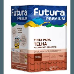 Tinta para telha futura 18L - TINTAS JD