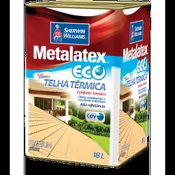 TINTA ECO TELHA TÉRMICA BRILHANTE METALATEX 18L - TINTAS JD
