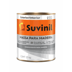 MASSA PARA MADEIRA SUVINIL 0,9L - TINTAS JD