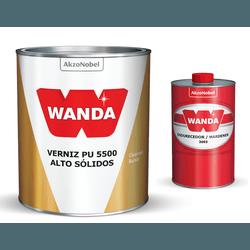 VERNIZ PU 5500 (KIT VRN 750ML+ENDUR 150ML) WANDA - TINTAS JD