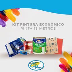 Kit Pintura Econômico- Pinta 18 MT