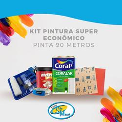 kit Pintura Econômico -Pinta 90MT