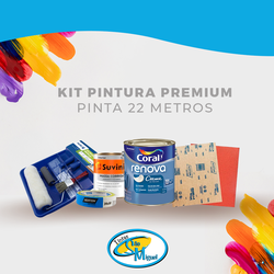 kit pintura Premium -Pinta 22 mt