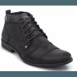Bota Coturno Masculino Casual Top Franca Shoes Pre... - Top Franca Shoes | Calçados confortáveis em Couro