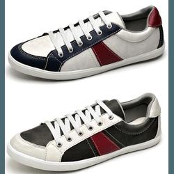 Kit Sapatenis Top Franca Shoes Casual - Top Franca Shoes   Calçados confortáveis em Couro