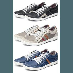 Kit 3 Tênis Sapatenis Masculino Casual Top Franca ... - Top Franca Shoes | Calçados confortáveis em Couro
