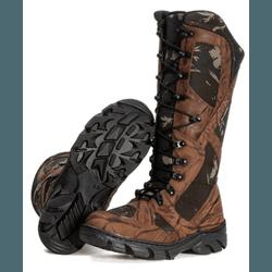 BOTA COTURNO MILITAR PARA CAÇA E PESCA TERRA - Top Franca Shoes | Calçados confortáveis em Couro