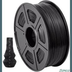 Filamento- ABS 1.75mm 1kg - Preto - TOPINK3D