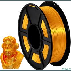 Filamento PLA+ Silk 1.75mm 1kg - Brass - TOPINK3D