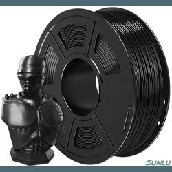Filamento PLA+ 1.75mm 1kg - Preto - TOPINK3D