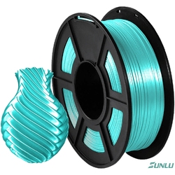 Filamento PLA+ Silk 1.75mm 1Kg - Verde - TOPINK3D
