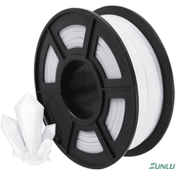 Filamento PETG 1.75mm 1Kg - Branco - TOPINK3D