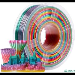 Filamento PLA+ Rainbow (COLOR 01) 1.75mm 1Kg - TOPINK3D