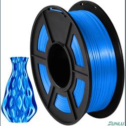 Filamento PLA+ Silk 1.75mm 1Kg - Azul - TOPINK3D