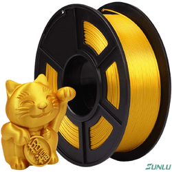 Filamento PLA+ Silk 1.75mm 1kg - Light Gold - TOPINK3D