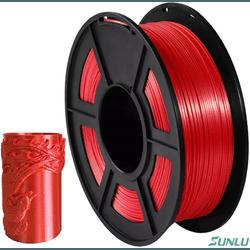 Filamento PLA+ Silk 1.75mm 1kg - Vermelho - TOPINK3D