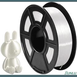 Filamento PLA+ Silk 1.75mm 1Kg - Branco - TOPINK3D