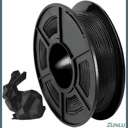 Filamento Flexivel - 1.75mm - 500grs - Preto - TOPINK3D