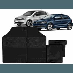 Jogo de Tapetes Gol/Voyage G6/G7 4 Peças - Total Latas - A loja online do seu automóvel
