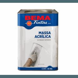 MASSA ACRILICA BEMA 18 LTS - TOTAL TINTAS DISTRIBUIDORA