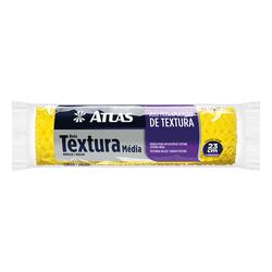 ROLO TEXTURA MEDIA 23 CM ATLAS - TOTAL TINTAS DISTRIBUIDORA