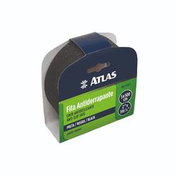 FITA ANTIDERRAPANTE 50MM X 5 MTS PRETA ATLAS - TOTAL TINTAS DISTRIBUIDORA